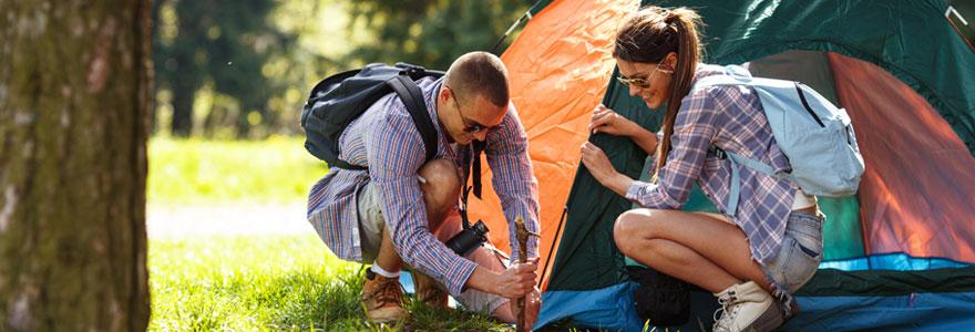 Camping avec la nature